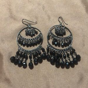 Jewelry - Black/silver earrings